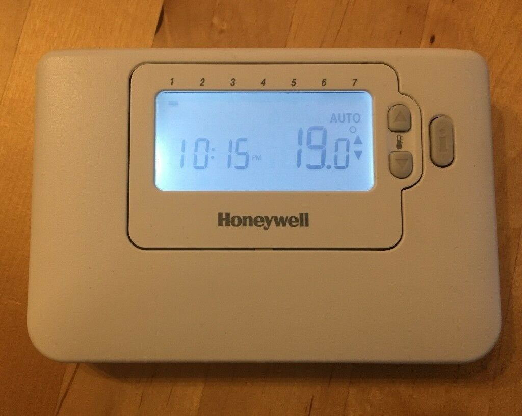 Honeywell Chronotherm Wireless Honeywell 7 Day Cm727 Rf Wireless Programmable Room