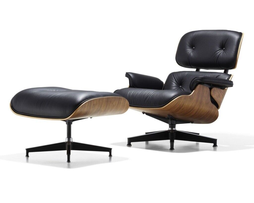 Genuine Brand New Herman Miller Eames Lounge Chair And - Eames Chair London