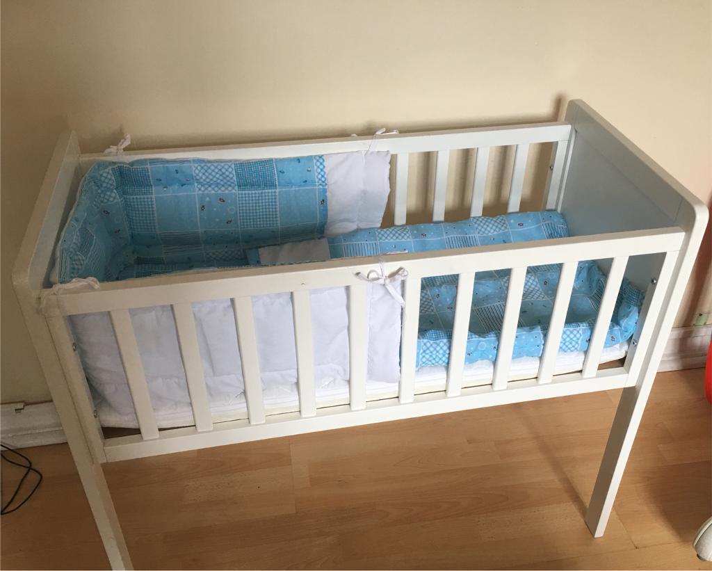 Mothercare Hyde Crib Suzy Microfibre Foam Mattress