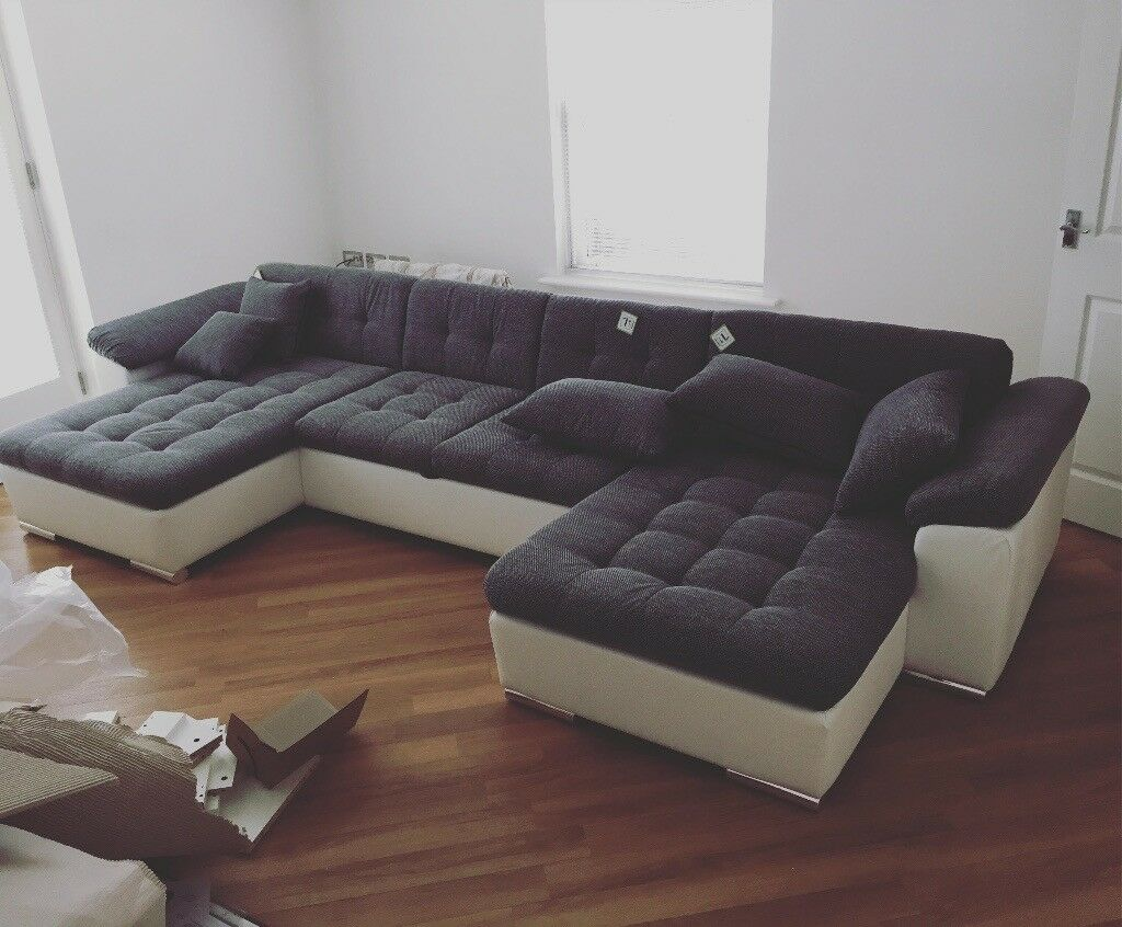 Large U Shape Sofa Bed For Sale Collection Only In