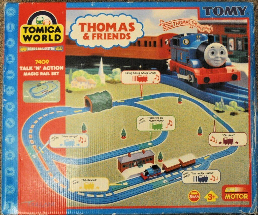 Mamas Papas Footmuff Tomy Thomas Talk 39;n 39; Action Magic Railway Set In