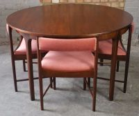 MCINTOSH Rosewood Teak Dining Table Mid century modern ...