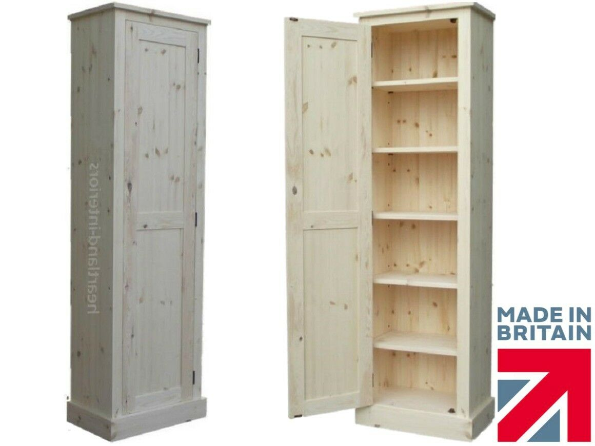 Buy Pantry Solid Wood Slim Cupboard Tall Linen Pantry Hallway