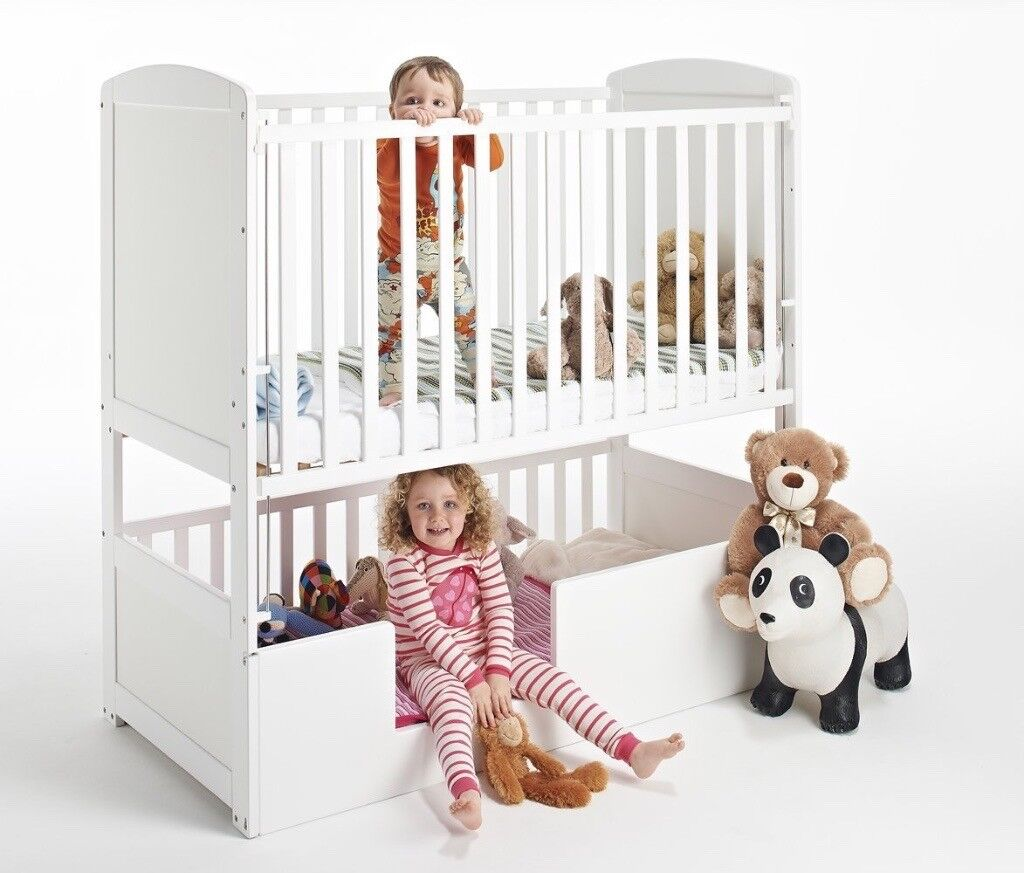 Toddler Bunks Children Bunk Bed And Bunkcot Cot 3 In 1 Ideal For 2 Kids