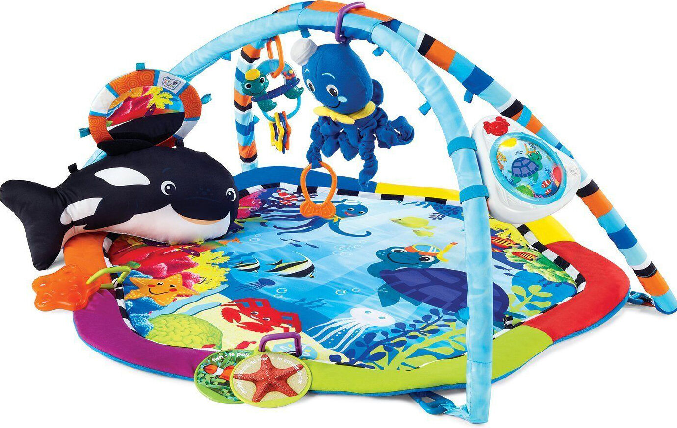 Baby Einstein 3 In 1 Jumper And Activity Mat Colors Of The Ocean Top 10 Baby Play Mats Ebay