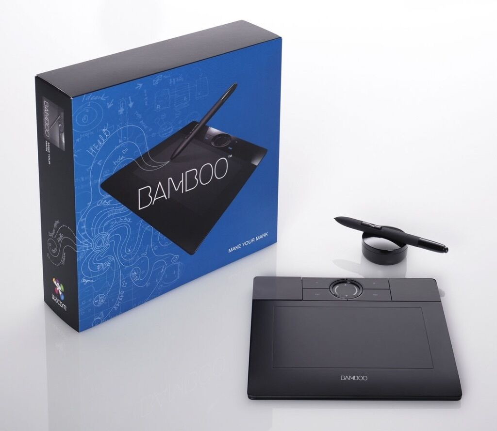 Wacom Bamboo Wacom Bamboo Mte 450 Graphics Tablet In Baildon West