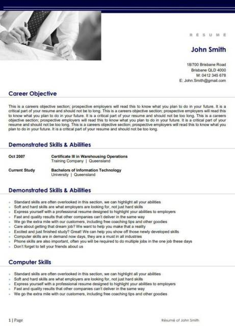 Professionally Made Resumes Other Business Services Gumtree