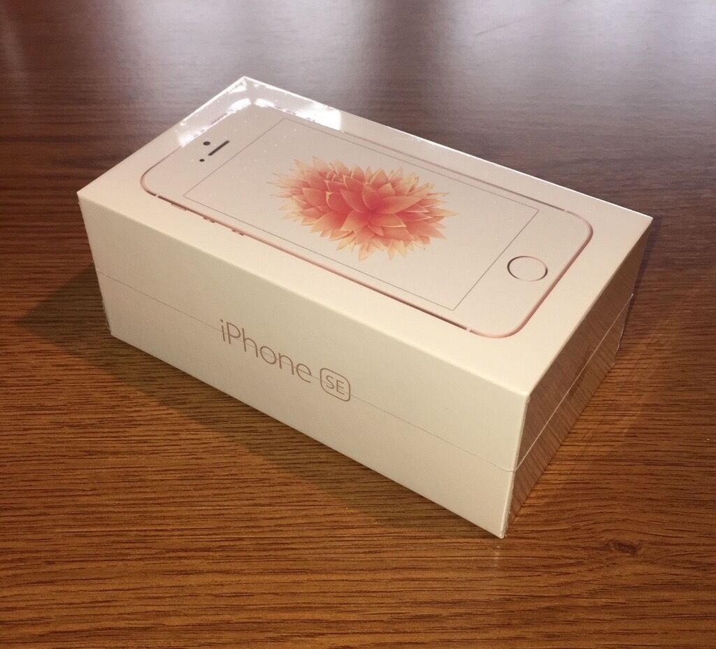 Iphone Se 128gb Brand New Sealed In Box Apple Iphone Se 16gb Rose Gold