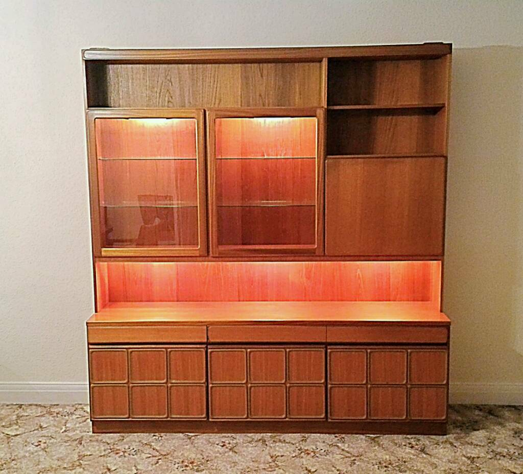 Vintage Sideboard Drinks Cabinet Mckintosh Vintage Retro Teak Illuminated Sideboard