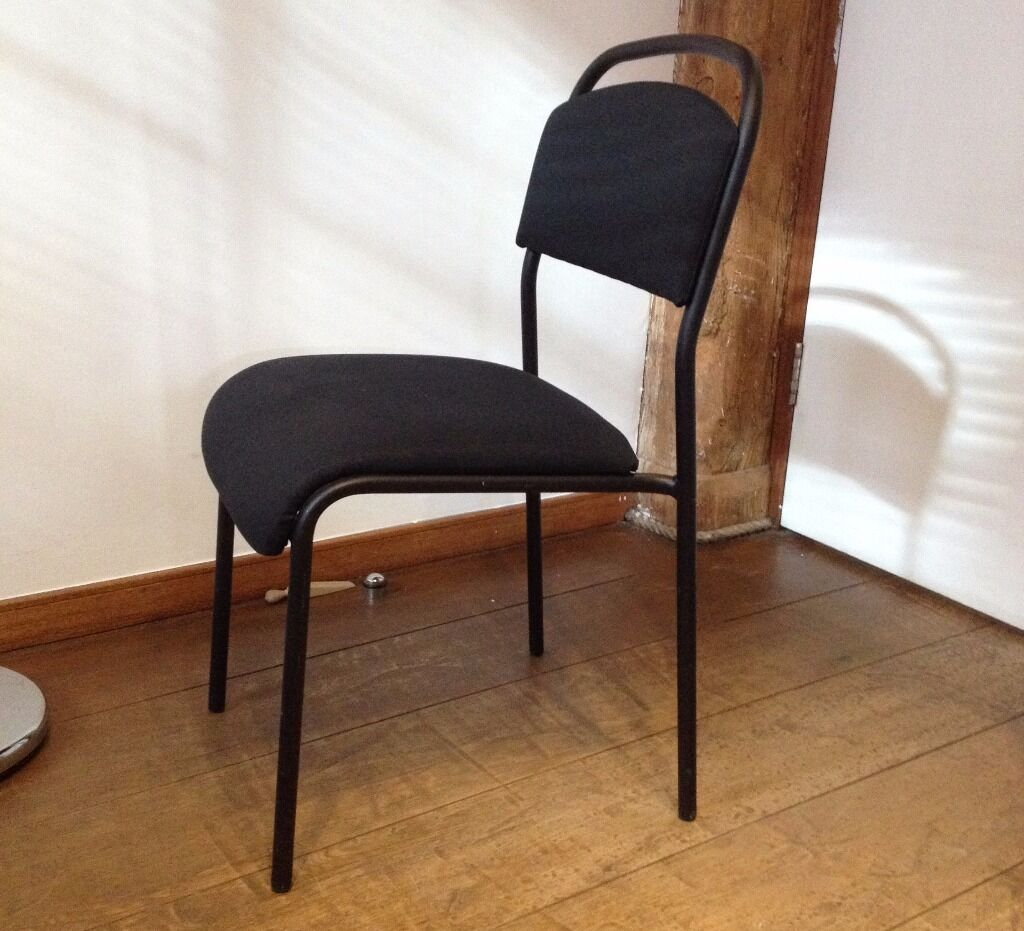 Ikea Black Chair Ikea Sarna Black Chair In Limehouse London Gumtree