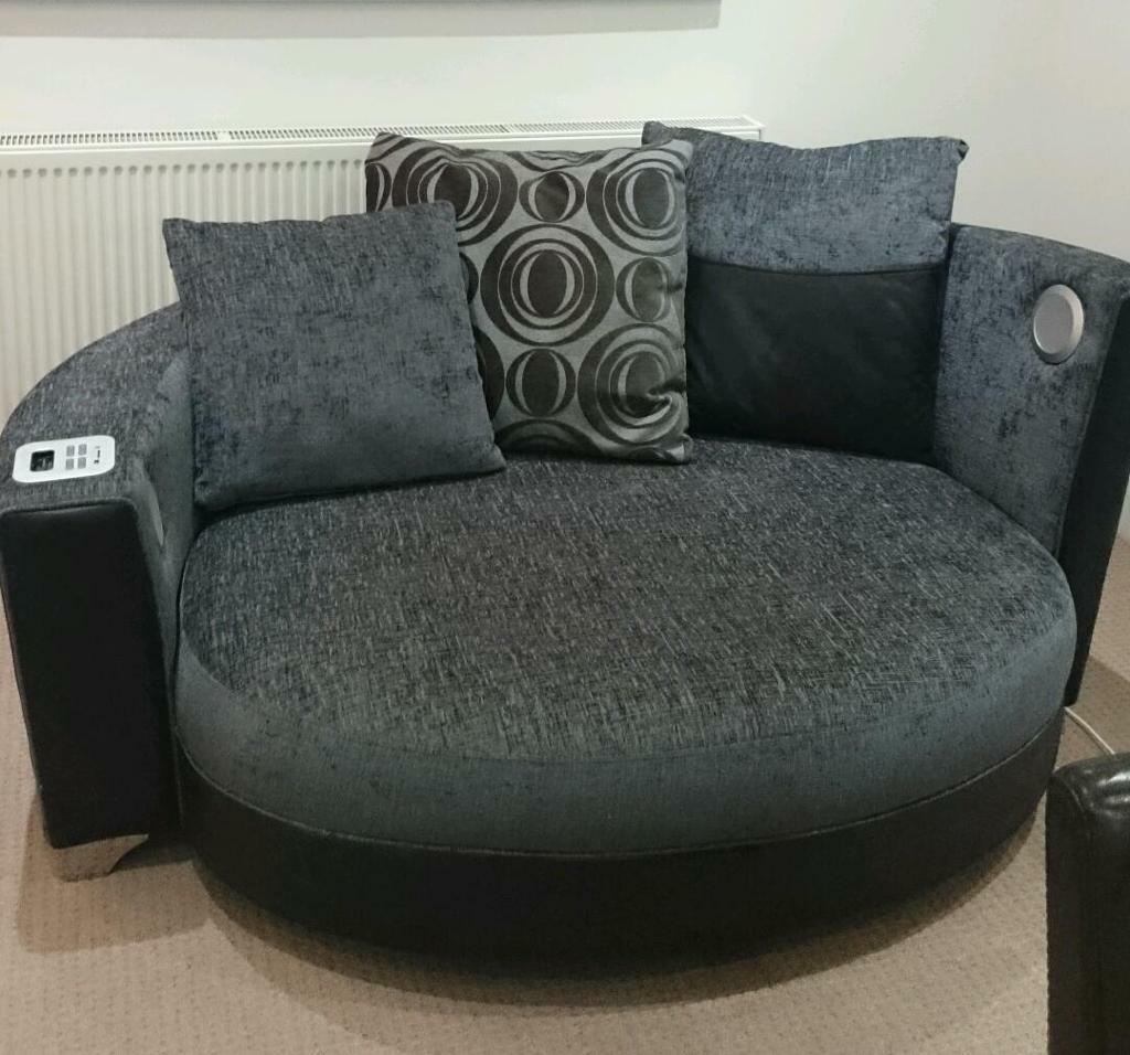 Grey Sofas For Sale Gumtree Helix Dfs Audio Cuddler Sofa - Reduced | In Sittingbourne