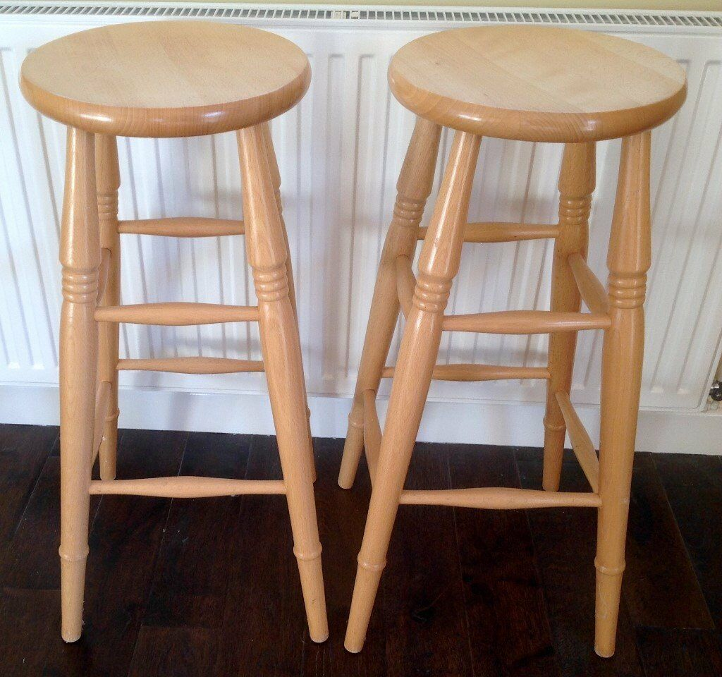 Wooden Kitchen Stools Kitchen Stools Wooden High Level Stools Very Good