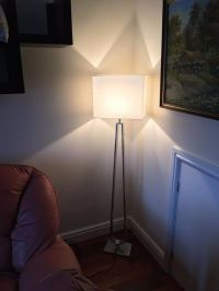 Floor Lamp - KLABB - White (IKEA, new) | in Southwark ...