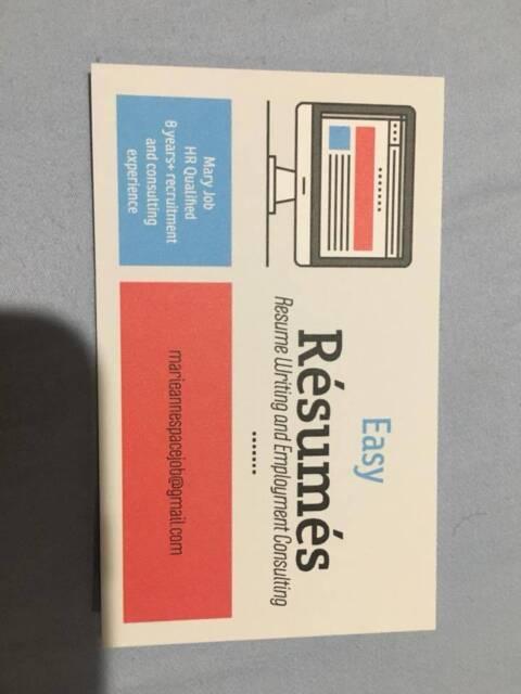 Resume Writing Service Other Community Gumtree Australia