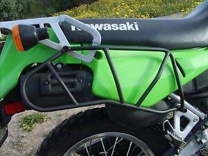 Klr 650 Side Luggage Racks 2007 Older Rear Plastic Guards