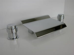 Allbrass tub waterfall faucet chrome bathroom faucets i ebay