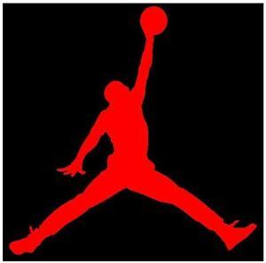 Michael Jordan Wallpaper Hd 12 Quot Jordan Jumpman Window Decal Sticker Vinyl Car Truck Ebay