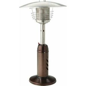37quot Tall Outdoor Portable Tabletop Patio Heater Hlds032 Cg