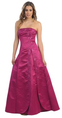SALE !! NEW STRAPLESS BRIDESMAID DRESS UNDER $100 FORMAL ...