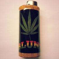 Blunt Bic Lighter Case Weed Marijuana Ganja Holder Sleeve ...