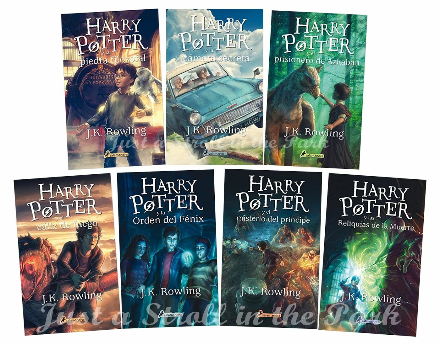 Saga De Harry Potter Libros Harry Potter Complete Collection Spanish Edition Books 1