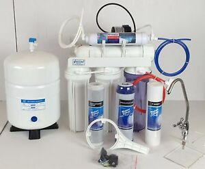 5 Stage Under Sink Reverse Osmosis Unit W Aquatec Patent