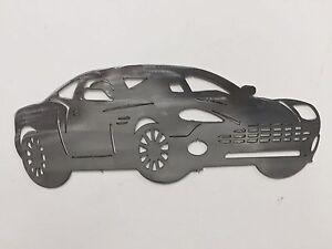 Sports Car Metal Wall Art supercar racing muscle SkilWerx