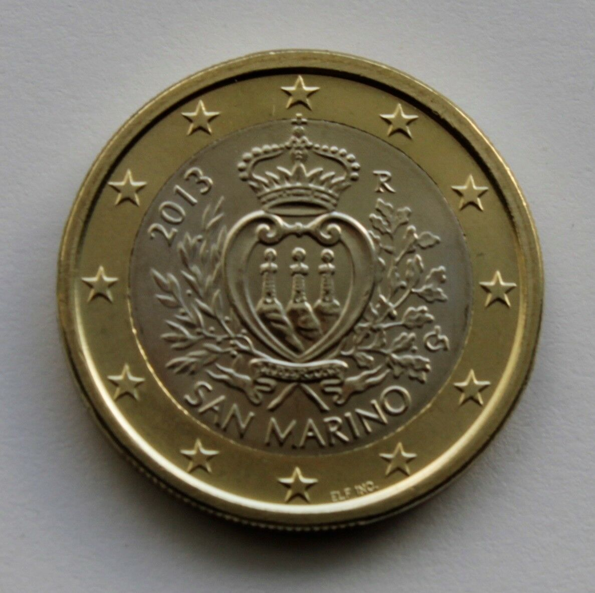 Ebay 1 Euro San Marino 1 Euro Circulation Coin 2013 Uncirculated