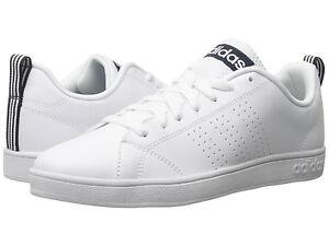 Men Adidas Neo Advantage Clean VS F99252 White Navy 100% Authentic Brand New   eBay
