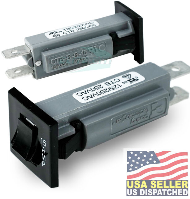 Battery Charger Circuit Breaker Club Car 48v PowerDrive 2 Model