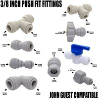 """Compatible with John Guest JG 3/8"""" Push Fit Tap, Beer ..."""