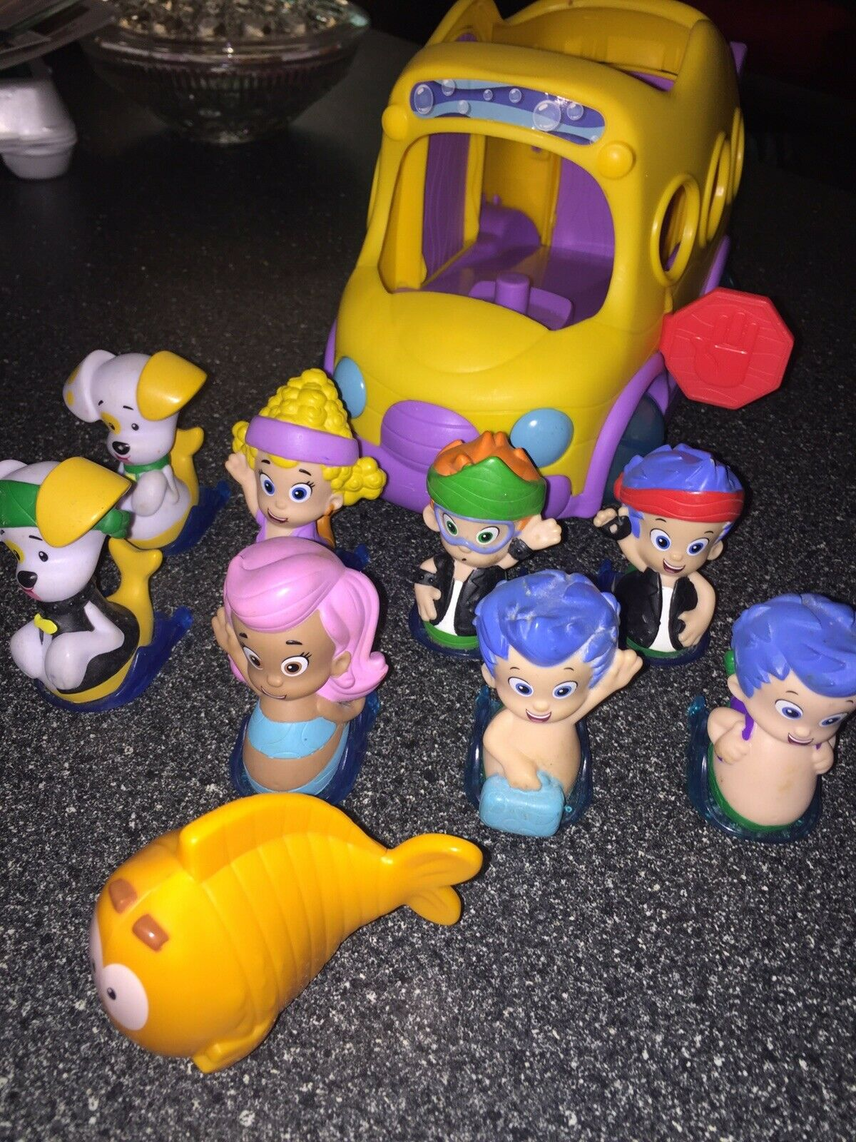 Das Versiegelte Badezimmer Detektiv Conan Bubble Guppies Swim Sational School Bus Mr Grooper Grooper Grooper