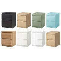 Ikea Malm Oak Bedside Table - Table Ideas