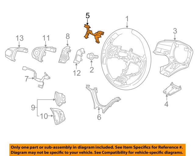 Honda OEM 12-15 Civic Steering Wheel-wiring Support 78515TR0N61 for