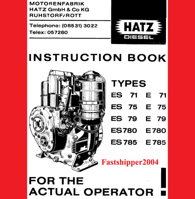 Hatz diesel engine manual