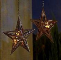1 Hanging LED Rustic Barn Farm Western Cowboy Texas Star ...