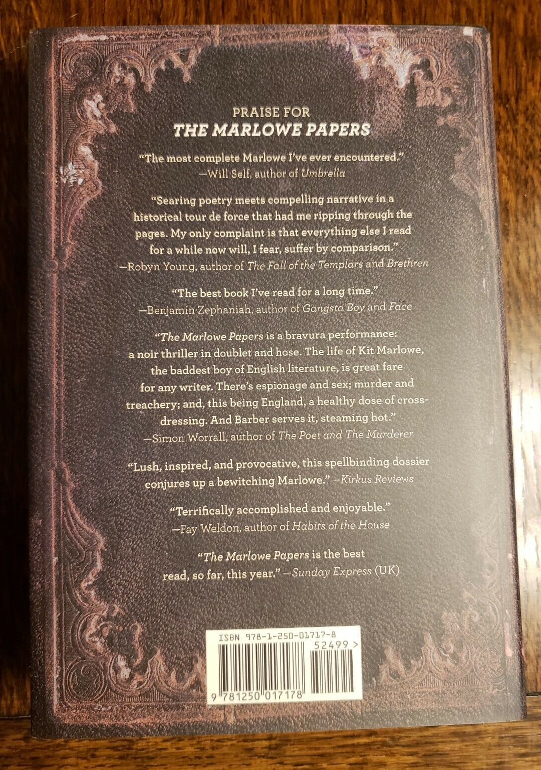Kit Dressing Noir The Marlowe Papers A Novel By Ros Barber 2013 Hardcover
