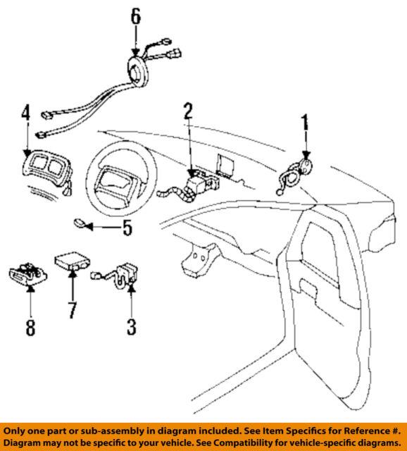 GM OEM 12052834 Brake-wire Harness Retainer for sale online eBay