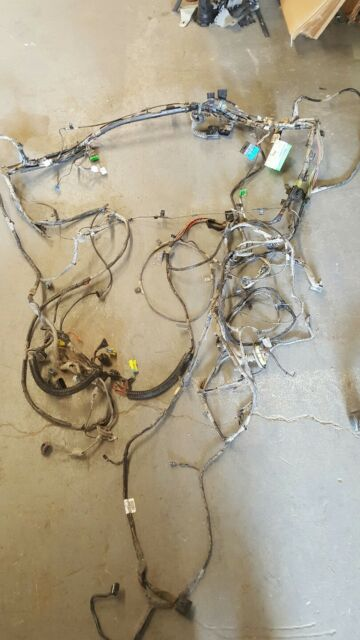 2005 Chevy Trailblazer GMC Envoy Interior Rear Body Wiring Harness