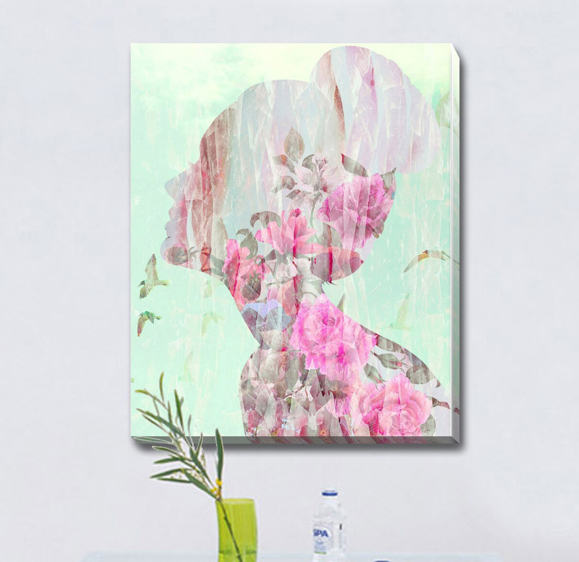 Decoration Chambre Usa Flower Wall Gift Decor Kids Home Art Framed Print Canvas