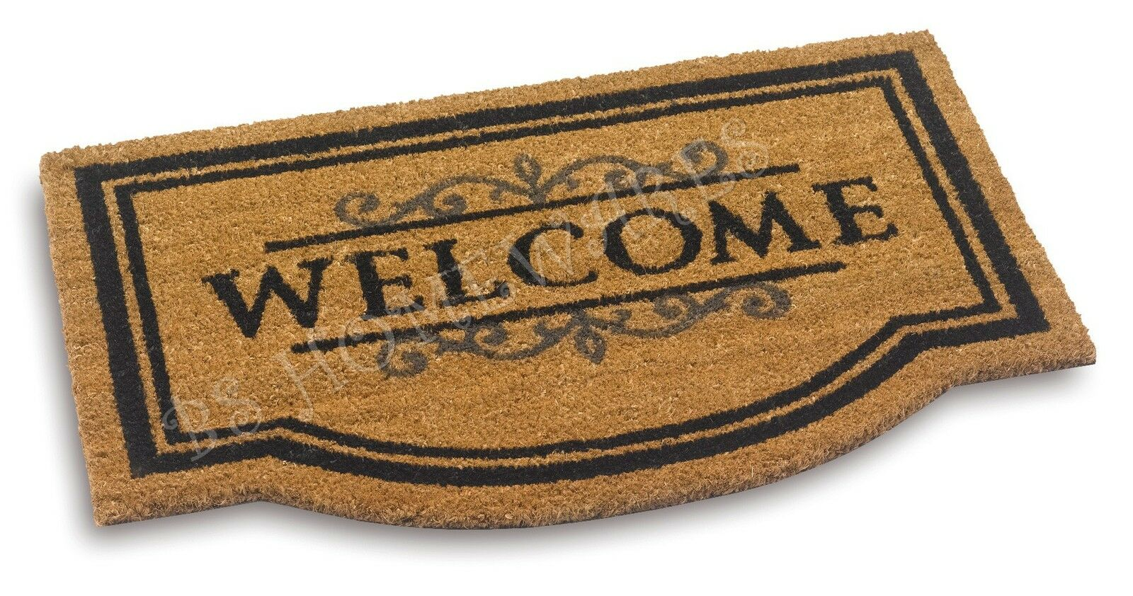 Large Door Mats Outdoor Large Door Mat Welcome Coir Floor Entrance Indoor Outdoor