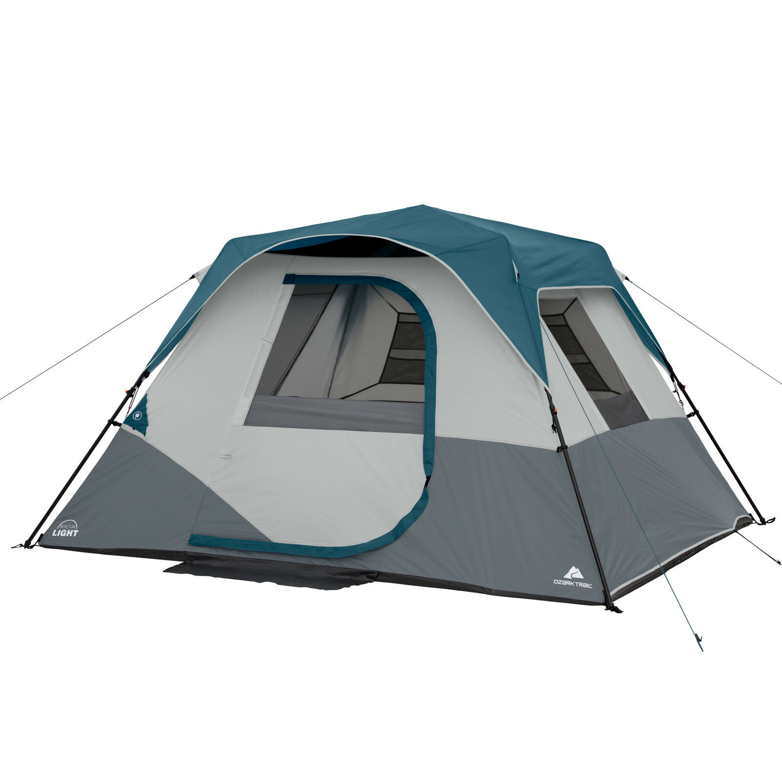 Ribcord Bank 3 Zits Ozark Trail 6 Person Hexagon Cabin Tent Outdoor Hiking Camping