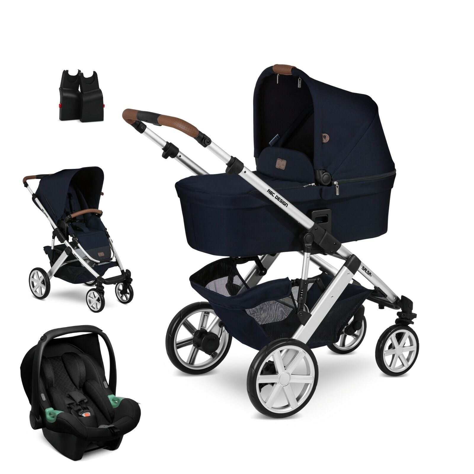 Kinderwagen Komplettset Ebay Abc Design Salsa 4 Shadow Kinderwagen 3in1 Set 2020