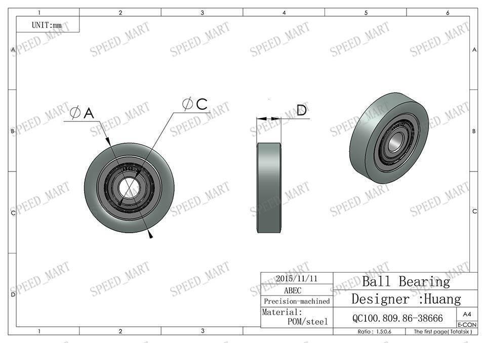 nylon timing belt pulleys