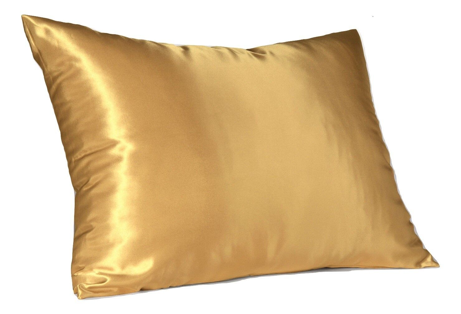 Satin Pillowcases With Zipper Luxury Satin Pillowcase With Zipper Standard Size Silky Pillow Case For Hair
