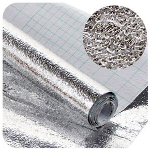 Aluminum foil Self Adhesive Xmas Wallpaper Kitchen Shelf Liner Contact Paper | eBay