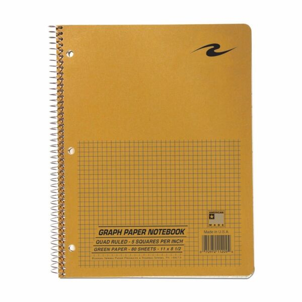 roaring spring graph paper notebook