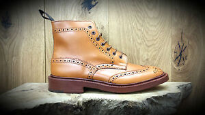Trickers Stow Boots Style 5634 2 Acorn Antique Size 11
