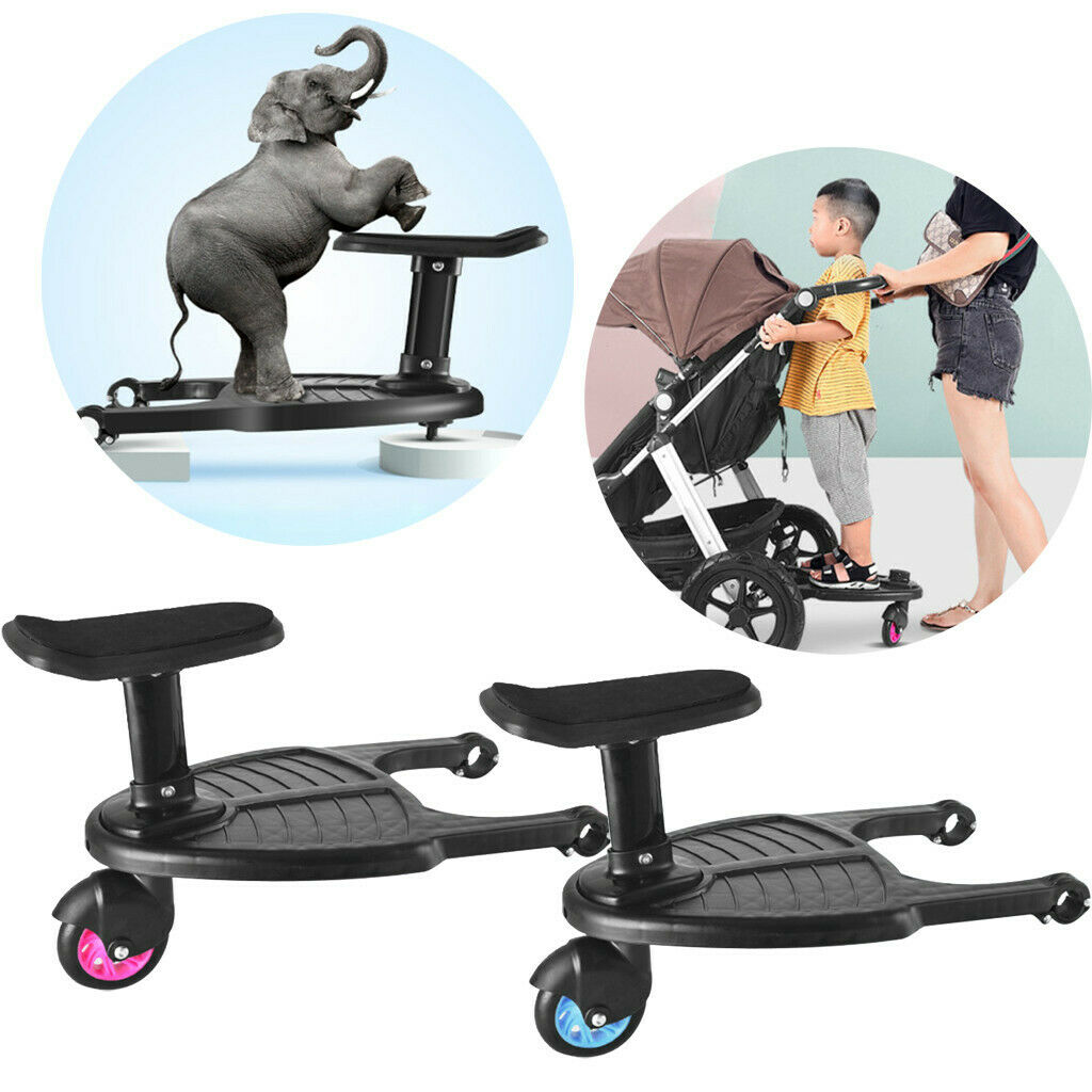 Mutsy Buggy Board Wheeled Buggy Board Pushchair Stroller Kids Safety Comfort Step Board Up To 25kg