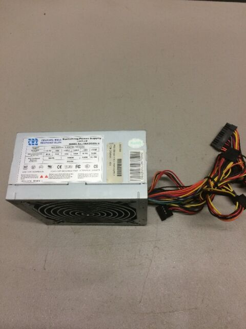 Channel Well Tech Cwt Dsa350v-c 350w 350 Watts Atx12v Power Supply